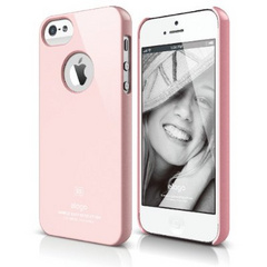 Elago S5 Slim Fit Case for iPhone 5/5s/SE - Lovely Pink