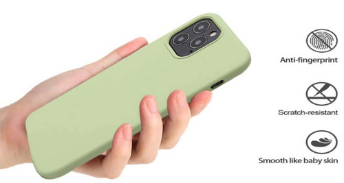 Original Silicone Case for iPhone 12/PRO - Matcha Green