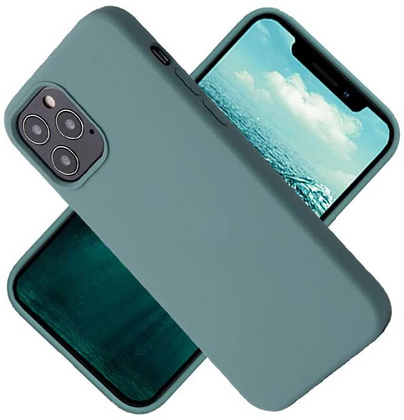 Original Silicone Case for iPhone 12/PRO - Pine Green