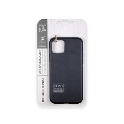Wilma Biodegradable Case for iPhone 12 Mini - Black