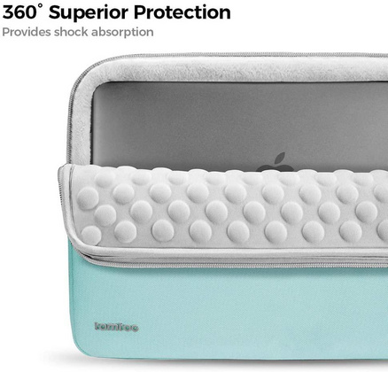 TomToc Protective Laptop Sleeve - Mint