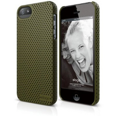 S5 Breathe Case - Soft Feeling Camo Green