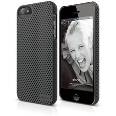 S5 Breathe Case - Soft Feeling Dark Gray