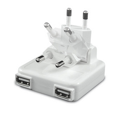 Macally 2 port USB AC charger - 10W