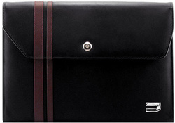 Urbano MacBook Ultra Slim Case - Black/Brown