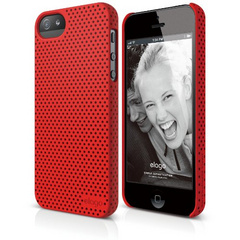 S5 Breathe Case - Soft Feeling Extreme Hot Red
