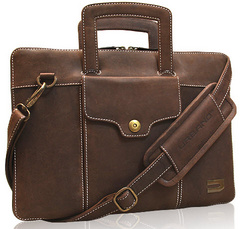 Attache Leather Bags - Chocolate Vintage