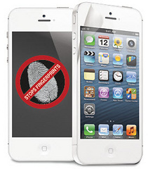 Macally Anti-fingerprint screen protector - iPhone 5