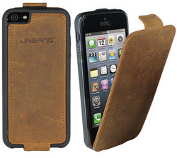 Leather Flip Case - Vintage