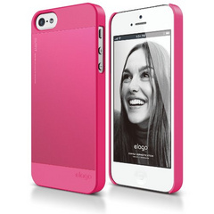 S5 Outfit Aluminum Case - Hot Pink