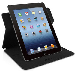 Protective case with rotatable stand - Black
