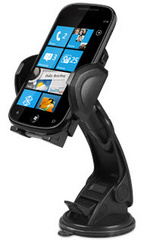 Suction Cup Mount For iPhone, iPod, Cell Phone, MP4, and GPS