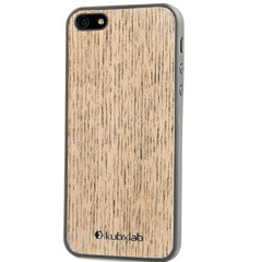 Kubxlab Ultra Thin Case for iPhone 5/5s/SE - Light Wood