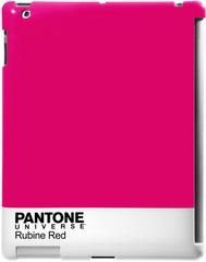 iPad 2 Back Clip - Pantone Universe Rubine Red