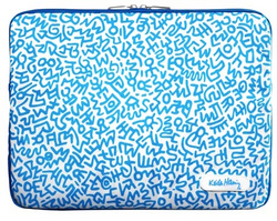Keith Haring - Graffiti Print Blue