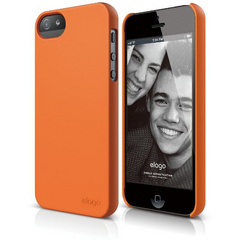 S5 Slim Fit 2 Case - Soft Feeling Orange