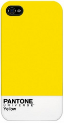Pantone case for IPhone 4/4S - Yellow