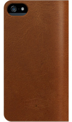 The Real Genuine Leather Case - Brown