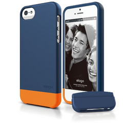 S5 Glide Case - Soft Feeling Jean Indigo