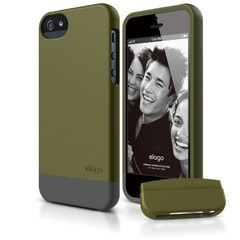 S5 Glide Case - Soft Feeling Camo Green