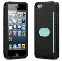 id America Wallet Case for iPhone 5/5s/SE - Black
