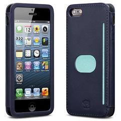 id America Wallet Case for iPhone 5/5s/SE - Navy