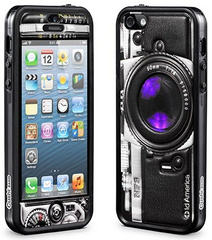 id America Cushi Camera Complete Protection Kit for iPhone 5/5s/SE - Black