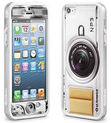 id America Cushi Camera Complete Protection Kit for iPhone 5/5s/SE - White