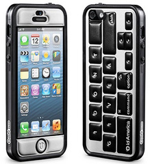 id America Cushi Original Complete Protection Kit for iPhone 5/5s/SE - Keyboard Black