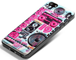id America Cushi DJ Soft Foam Pad for iPhone 5/5s/SE - Boombox