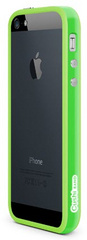 id America Cushi Band Frame Case for iPhone 5/5s/SE - Green