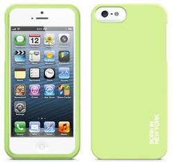 id America Hue Soft Grip Case for iPhone 5/5s/SE - Green