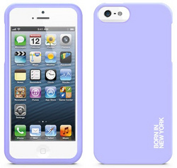 id America Hue Grip Case for iPhone 5/5s/SE - Violet