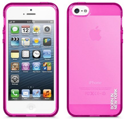 id America Liquid Rigid Flex Case for iPhone 5/5s/SE - Gloss Pink