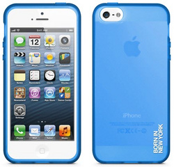 id America Liquid Rigid Flex Case for iPhone 5/5s/SE - Matte Blue