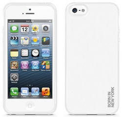 id America Liquid Rigid Flex Case for iPhone 5/5s/SE - Solid White