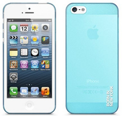 id America Mist Hardshell Case for iPhone 5/5s/SE - Blue