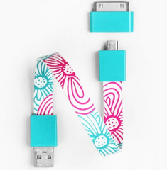 Mohzy Loop Android & Apple USB Cable - Daisy