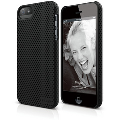 S5 Breathe Case - Soft Feeling Black