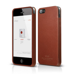 S5 Leather Case - Brown