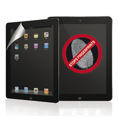 Macally Anti-fingerprint screen protector - iPad 2/Retina