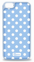 Pinlo Dot Case for iPhone 5/5s/SE - Milky Blue