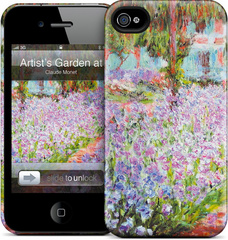 GelaSkins - Artist's Garden at Giverny - iPhone 4/4S Hardcase
