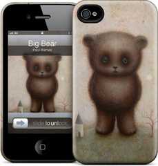 GelaSkins Big Bear - iPhone 4/4S Hardcase