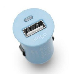 COLOR USB Car Charger - Pastel Blue