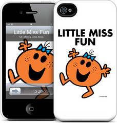 GelaSkins Little Miss Fun - iPhone 4/4S Hardcase