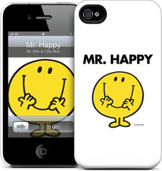 GelaSkins Mr. Happy - iPhone 4/4S Hardcase