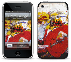 Lizard Lounge - Ralph Steadman - iPhone 3G
