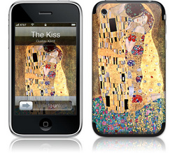 The Kiss - Gustav Klimt - iPhone 3G