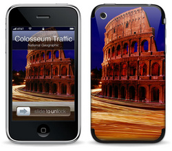 Colosseum Traffic - National Geographic - iPhone 3G